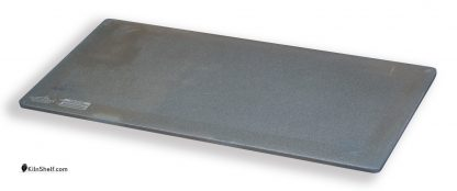 11 by 22 by 5/16's inch rectangular Advancer kiln shelf.