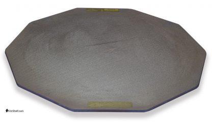 21 by 21 by 5/16's inch Advancer kiln shelf for 10 sided electric kilns