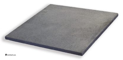 24 by 24 by 7/8?s inch square Crystolon conventional silicon carbide kiln shelf.